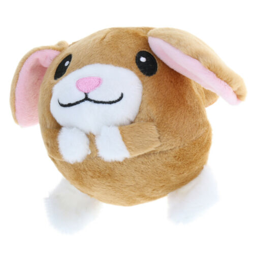 """5.5/"""" Plush Animal Doll Repeats What You Say Jumping Interactive Kids Toy"""