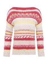 BENETTON bambina a maniche lunghe maglione 7-8 ANNI-NUOVO