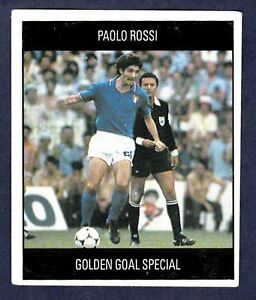 ORBIS 1990 WORLD CUP COLLECTION-#C-ITALY-PAOLO ROSSI-GOLDEN GOAL SPECIAL