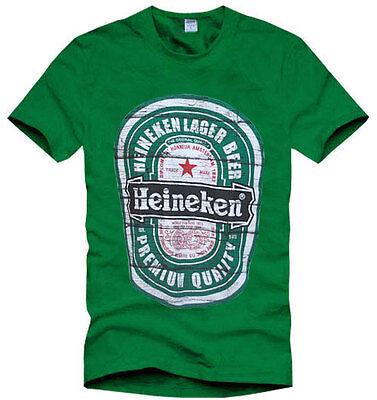 Mens Heineken Beer Green Short Sleeve T-Shirt Size M