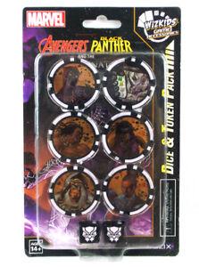 Avenger Black Panther Illuminati Heroclix Dice and Token Pack