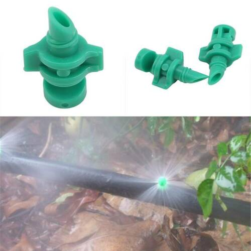 50pcs Micro Garden Lawn Water Spray Misting Nozzle Sprinkler Irrigation System C