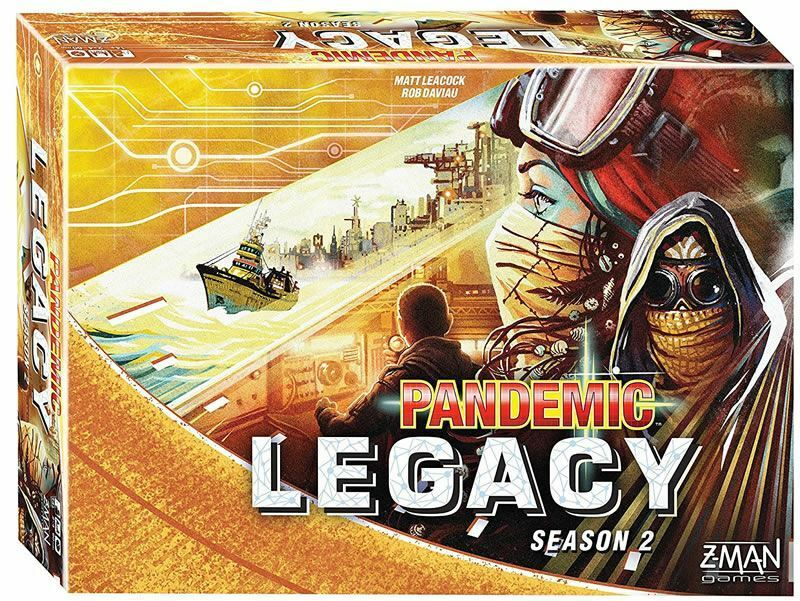PANDEMIC LEGACY SEASON 2 BOARD GAME Gelb