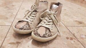 available no sale tax low price Details zu Original PAUL Green, Hochschaft-Sneaker/Schnürer, UK 7, Farbe:  Metallic-rosa