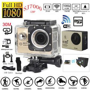 2016 1080P Action Camera SJ7000 Wifi 2.0 LTPS LED Sports Extreme 170 Mini Cam DV