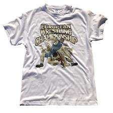 Graphite Ringer T-Shirts Wrestling T-Shirt Tee Sport Lutte Ringen GRECO-ROMAN