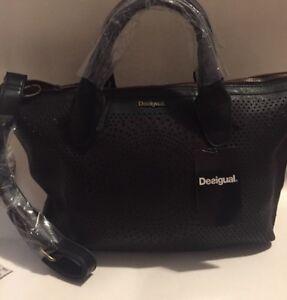 Image Is Loading Brand New Desigual Valencia Perforate Handbag Shoulder Bag