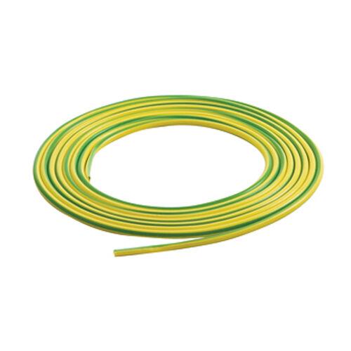 Yellow//Green Earth Sleeving Sleeving PVC 5 Metre Length Earth Sleeve