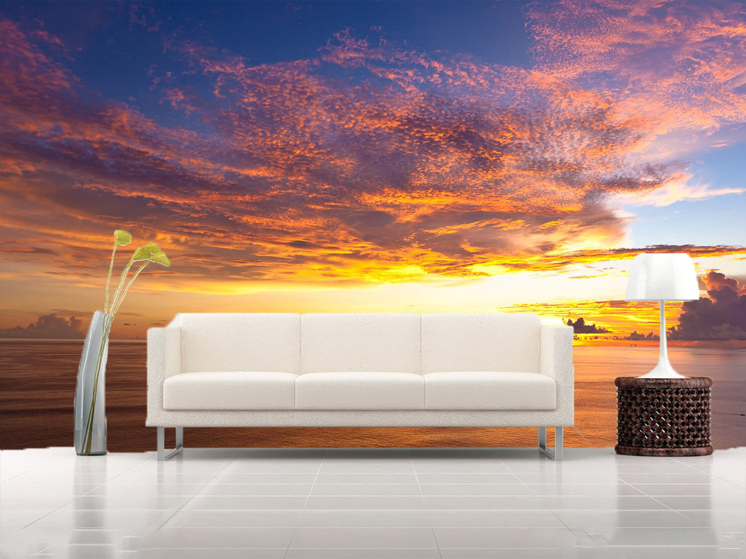 3D Dense red sky 39202  Wall Paper Wall Print Decal Wall Deco AJ WALLPAPER
