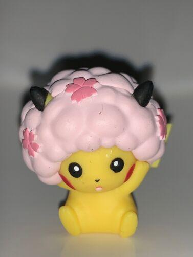 Pikachu Sakura Afro Mini Figure Pokemon Center Toy Gacha Machine Tokyo Dx