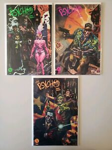 Psycho-DC-Comics-1-2-3-Complete-Set-Series-Run-Lot-1-3-VF-NM