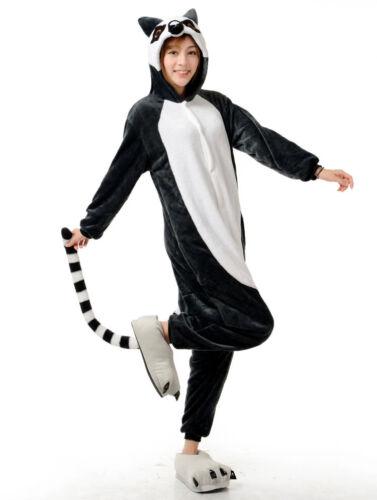 Unisexe Adulte Pyjamas Licorne Kigurumi Cosplay Costume animal Sleepwear onesi 1