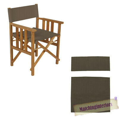 Grey Director Chairs Replacement Polyurethane Coated