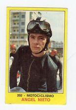 figurina PANINI CAMPIONI DELLO SPORT 1970-71 N. 202 MOTOCICLISMO NIETO