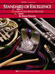"CoopéRative Kjos ""standard Of Excellence"" Music Book 1 French Horn Brand New Band On Sale!!"