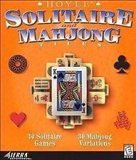 Hoyle Solitaire and Mahjong - PC/Mac Vivendi Universal Video Game