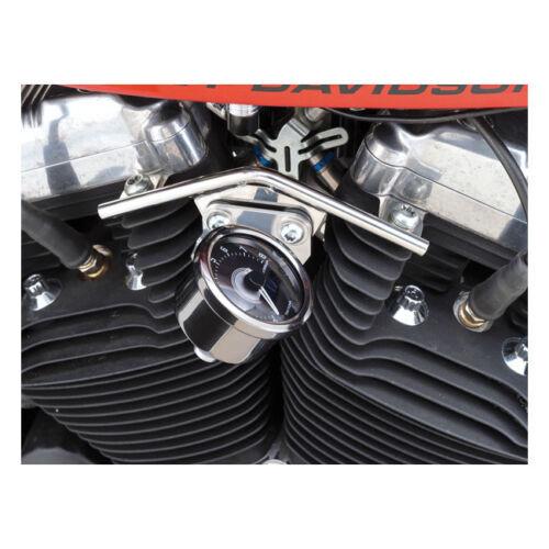 60mm Instrumente Harley-Davidson Sportster f Velona Tacho Halter f Edelstahl