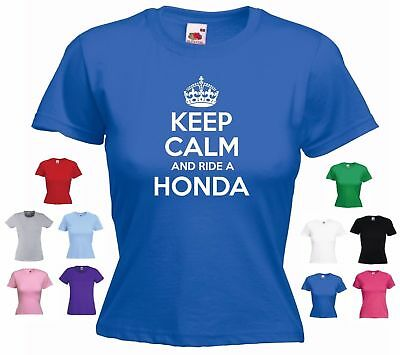 Ladies Funny T-shirt 1000 /'Keep Calm and Ride a BMW/' Motorbike R1200 R 1100