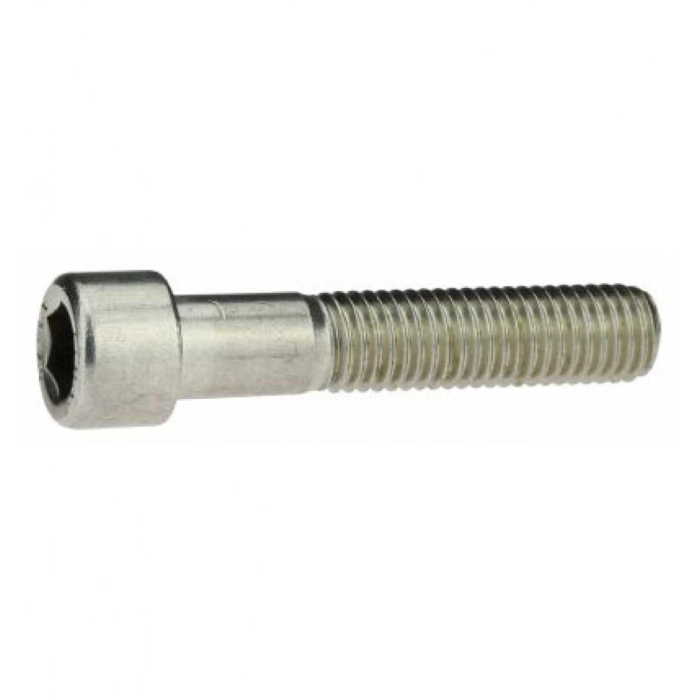 100x ISO 4762 Zylinderschraube mit Innensechskant. M 6 x 25. A 4 blank BUMAX88