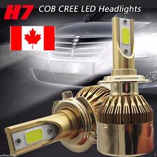 110W H7 COB CREE LED 20000LM Auto Car Headlights Kit Driving Bulbs Lamp 6000K CA