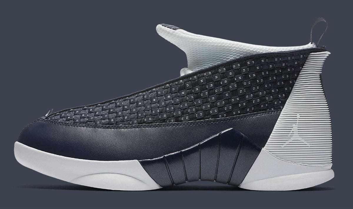 2018 Nike Air Jordan 15 XV Retro OG Obsidian Size 13. 881429-400 1 2 3 4 5