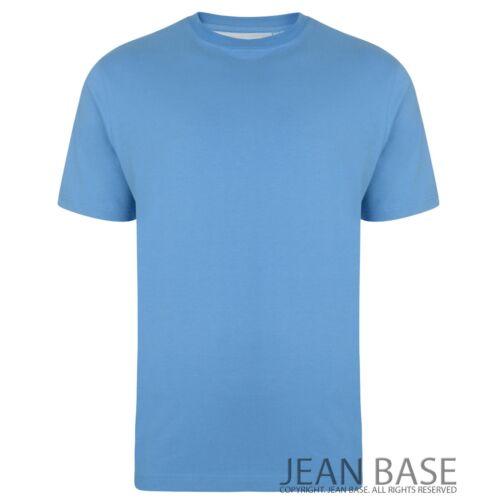 BIG Uomo Kam Plain BASIC LONG Tall T SHIRT KING 2-8xl Taglie Top nightshirt K500