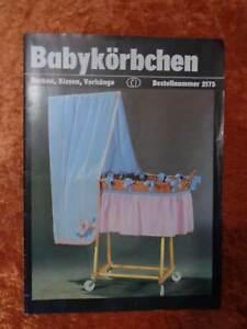 DDR-Plantillas-para-Babykorbchen-Verlag-Fur-Die-Frau-Vintage-Num-2175