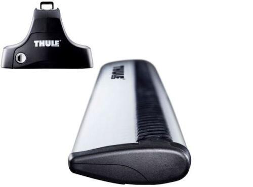 Thule Aluminium WingBars Roof Rack Bars Seat Mii 3//5dr 2012-2014