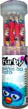 Furby 12 Piezas Lápices De Colores Papelería Regalo Marca