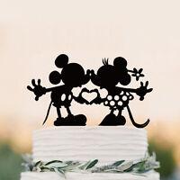 Disney wedding cake topper Custom Wedding Cake Topper Mickey  Minnie Cake Topper
