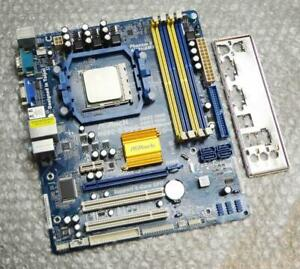 ASRock-N68C-S-UCC-REV-G-A-1-04-Socket-AM2-Motherboard-with-AMD-CPU-amp-Back-Plate