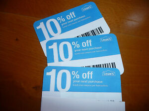 (20x) 10% Off FEBRUARY 2022 Gift Coupons for Home Depot & Competitors Only