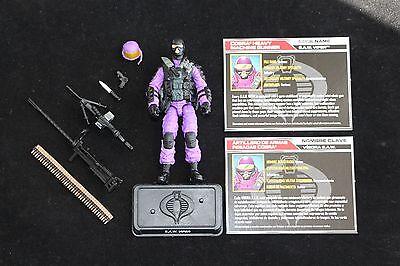 GI Joe Hasbro 50th Cobra Legion 3 Pack S.A.W. Viper Figure Complete Mint
