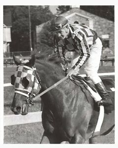 SECRETARIAT-amp-RON-TURCOTTE-ORIGINAL-1973-PHOTO-AFTER-THE-PREAKNESS-STAKES