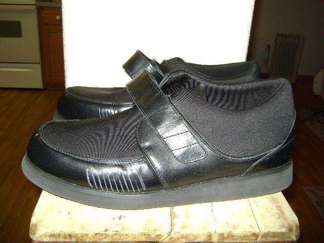 Mt Emey Leather 728 Single Strap Shoes  Mens Sz Left 14D / Right 13 4E