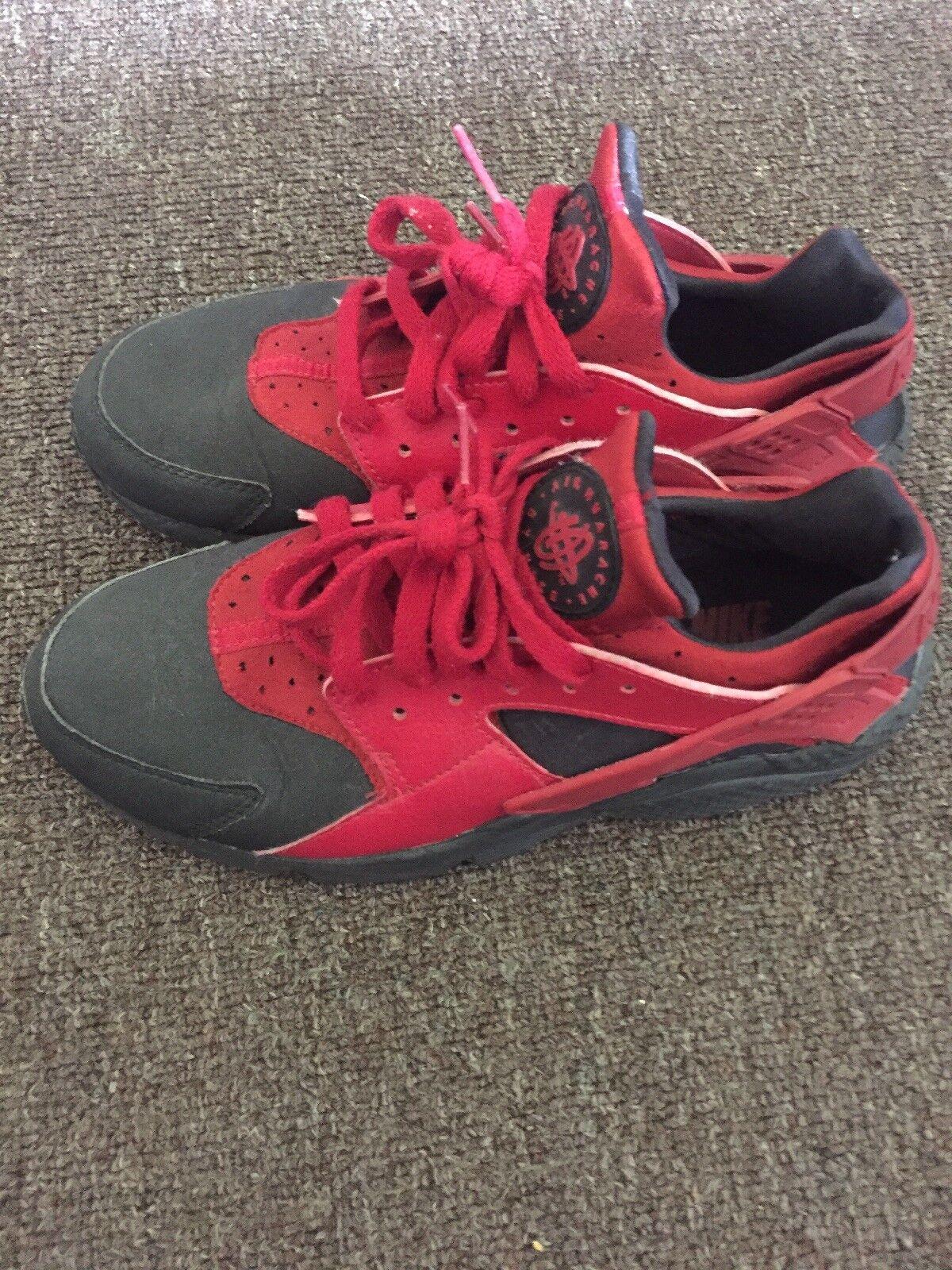 Nike Hurache Customized Red and Black size 9 Cheap women's shoes women's shoes