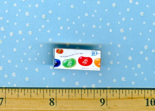 Dollhouse Miniature Size JELLY BEAN Candy Box