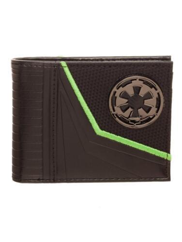 neuf Officiel star wars rogue un empire symbole noir bi-fold portefeuille