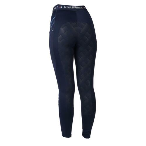 Horka Jubilee Équitation Pour Femmes Collants élastiques silicone plein Siège Ceinture Legging