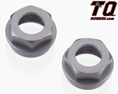 SCT410 2 Tekno RC TKR6003B Aluminum Non-Vented Top Shock Cap Set EB48