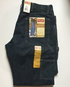 bc9840cb Image is loading Wrangler-Carpenter-Jeans-Denim-34x30-Loose-Fit-94OR0QW-