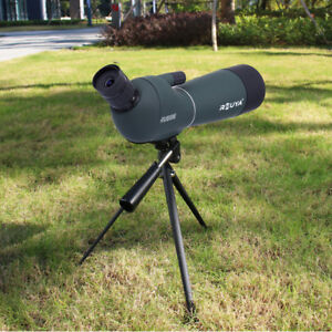 20-60x60-HD-Nachtsicht-Fernrohr-Spektiv-Fernglas-Teleskop-Monokular-Abgewinkelt