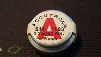 Original Bulova Accutron 214 103 First Wheel And Pinion Original Parts