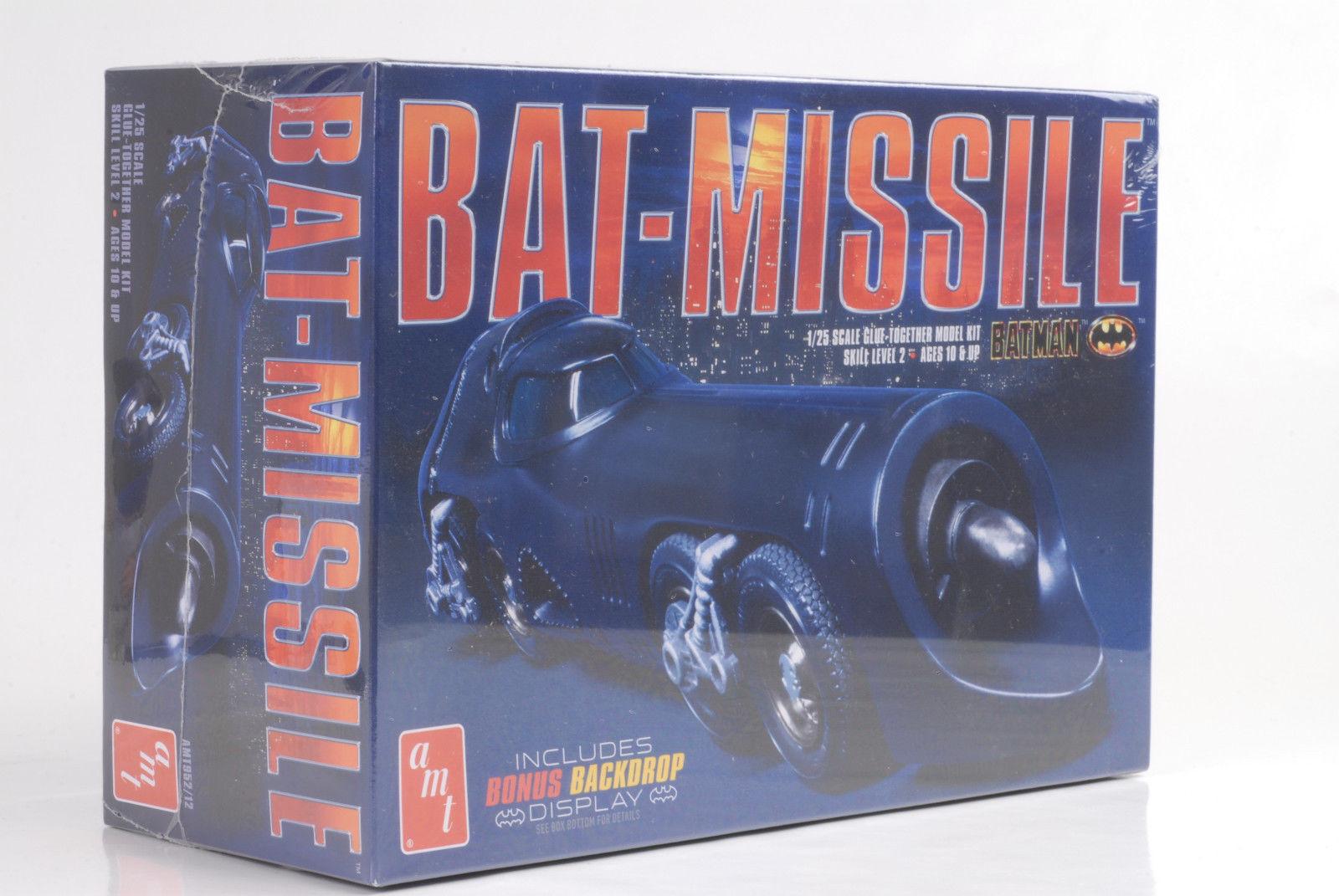 Batman Batmobile Bat-Missle Car Kit Kit 1 25 Amt 952 12