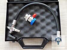 By-Pass für Kartusche und Push&Fill System Klimaanlage R134a Schnellkupplung