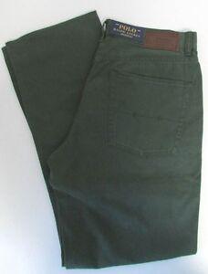 Taille Nwt Polo X Vert 30 Classique Ralph Lauren 650 32 Jeans Pantalon B8aBqrwW