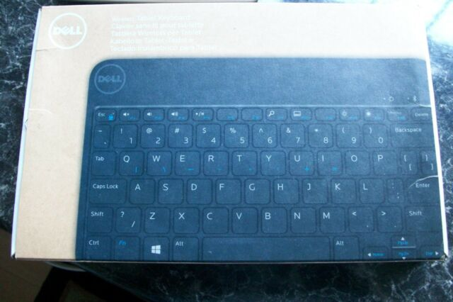 Genuine Dell Bluetooth Keyboard Case Stand Venue 8 Pro Us I Think For Sale Online Ebay