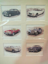 Golden Ear Collector Cards - Jaguar Classics - Serie 2 (in Passpartout)