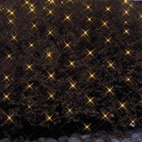 Luces Luces Luces LED rojo 3x3m 180er blancoo cálido cable negro Best season 498-76 360843