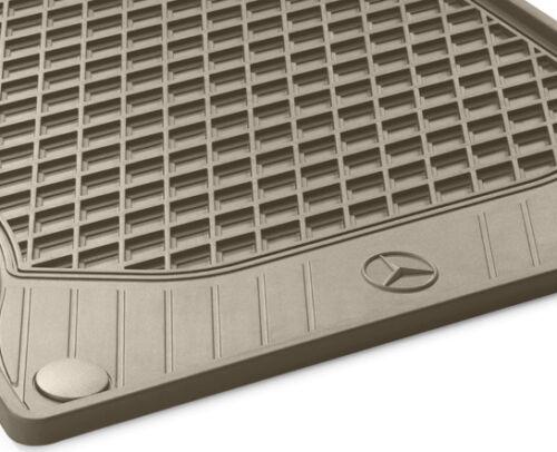 Mercedes-Benz OEM All Weather Floor Mats 2015-2019 C-Class Sedan Set of 4 W205